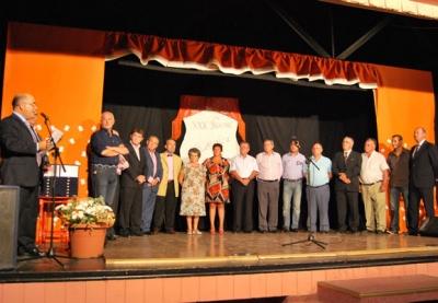 Acto Homenaje 1ª Junta Directiva de la PFU