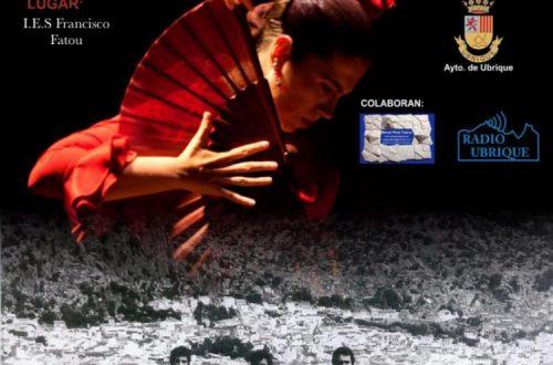 Cartel 32 Concurso Nacional de Arte Flamenco Ciudad de Ubrique